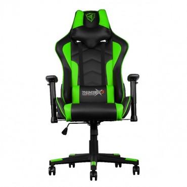 Aerocool Black & Green ThunderX3 TGC22 Adjustable Ergonomic Motorsports Inspired Desk Chair AER-4710700959626