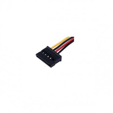 Aerocool 140mm 4pin Molex To Sata Power Adapter Cable Aer-sata-extension