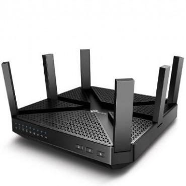 Tp-link Wireless Tri-band Mu-mimo Router Gbe(4) Usb 3.0(1) Usb 2.0(1) Archerc4000