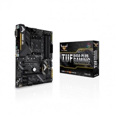 Asus Tuf B450-plus Gaming Amd B450 Atx Motherboard [90mb0ym0-m0uay0] Asus-90mb0ym0-m0uay0