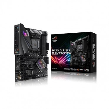 Asus Rog Strix B450-f Gaming Amd B450 Atx Motherboard [90mb0ys0-m0uay0] Asus-90mb0ys0-m0uay0