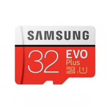 SAMSUNG EVO Plus 32GB MicroSDXC with SD Adapter (MB-MC32GA/APC)