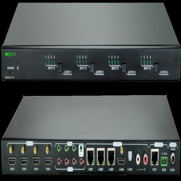 Avgear Hdbt/ Hdmi 4 X 4 Matrix Switch (AVG.CS4K44.V3)
