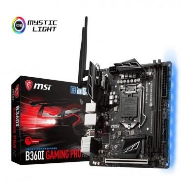MSI Performance GAMING Intel Coffee Lake B360 LGA 1151 DDR4 Onboard Graphics Mini-ITX  B360I GAMING