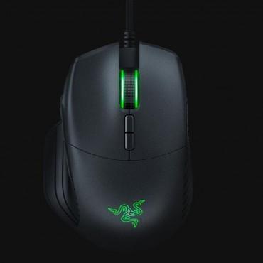 Razer Mouse: Basilisk Ergonomic FPS Gaming Mouse 5G Sensor up to 16 000 DPI 8 Buttons Chroma Black