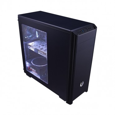 Bitfenix Black Nova Window Mid Tower Chassis (usb3) Bfx-nov-100-kkwsk-rp
