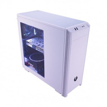 Bitfenix White Nova Window Mid Tower Chassis (usb3) Bfx-nov-100-wwwkk-rp
