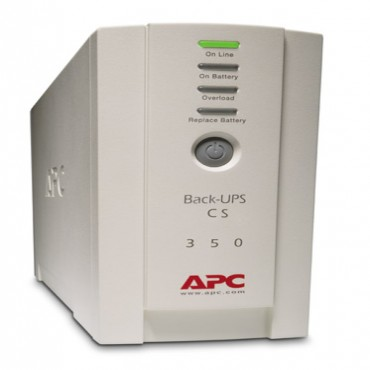 APC BACK-UPS: 350VA CS USB Support BK350EI