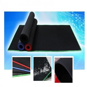 Generic Mouse Mat: Full Black Extended Gaming Mouse Mat BK80303