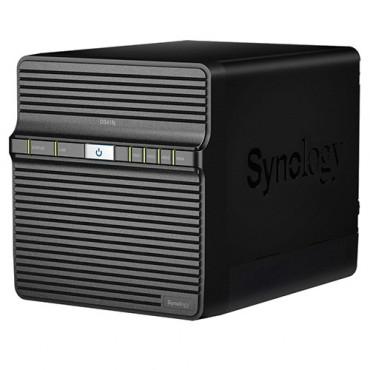 "Synology Diskstation Ds418j 4-bay 3.5"" Diskless 1xgbe Nas (hmb) Realtek Rtd1293 Dual-core 1.4ghz"