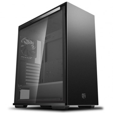 Deepcool Macube 310 Bk Tempered Glass Case Black Usb3.0*2 7+2 Slots Mini-Itx/Matx/Atx Macube 310 Bk