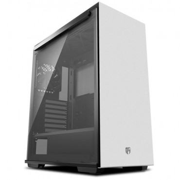 Deepcool Macube 310 Wh Tempered Glass Case Black Usb3.0*2 7+2 Slots Mini-Itx/Matx/Atx Macube 310 Wh