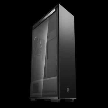 Deepcool Macube 310P Bk Tempered Glass Case Black Usb3.0*2 7+2 Slots Mini-Itx/ Matx/ Atx. Mesh Top Panel Macube 310P Bk