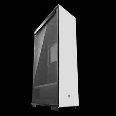 Deepcool Macube 310P Wh Tempered Glass Case White Usb3.0*2 7+2 Slots Mini-Itx/ Matx/ Atx Mesh Top Panel Macube 310P Wh