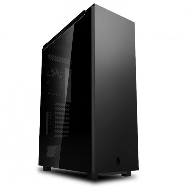 Deepcool Macube 550 Minimalist Full Tower Case Tempered Glass Side Panel Macube550 Bk