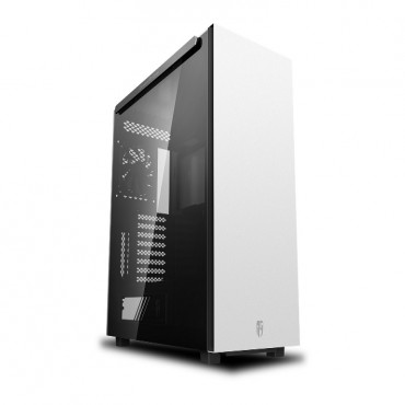 Deepcool Macube 550 Wh Minimalist Full Tower Case Tempered Glass Side Panel White Macube550 Wh
