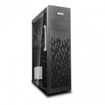 Deepcool Matrexx 30 Full Tempered Glass Side Panel M-Atx Case 1X 120Mm Bllack Fan Graphics Card