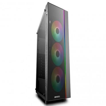 Deepcool Matrexx 70 Argb 3F Full Sized Tempered Glass Argb Case W/ 3 Preinstalled Rgb Fans Matrexx 70 Add-Rgb 3F
