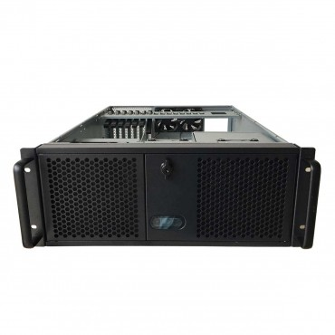 "TGC Rack Mountable Server Chassis 4U With 3 5.25"" Slot 4 Hdd Bays 1 Optional 2.5"" Hdd Bay Tgc-4550Hg-7"