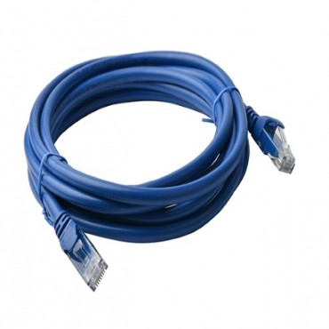 8Ware Cat 6A Utp Ethernet Cable Snagless - 7M Blue Ls Pl6A-7Blu