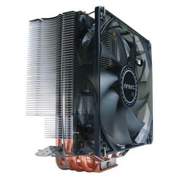 Antec C400 Air Cpu Cooler 120mm Blue Led 77 Cfm Intel 775 115x 1366 2011 Amd: Am2 Am2 + Am3 Am3+
