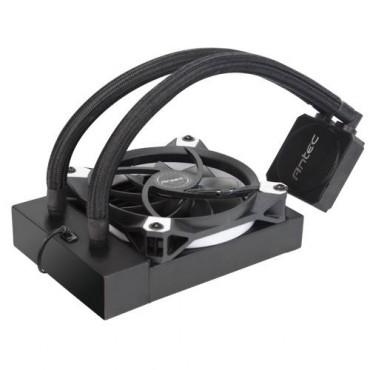 Antec Kuhler K120 Liquid Cpu Cooler Low Profile Pwm Fan Teflon Coated Tubing Lga 2066 2011 Am4