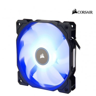 Corsair Air Flow 120Mm Fan Low Noise Edition / White Blue 3 Pin - Hydraulic Bearing 1.43Mm H2O.