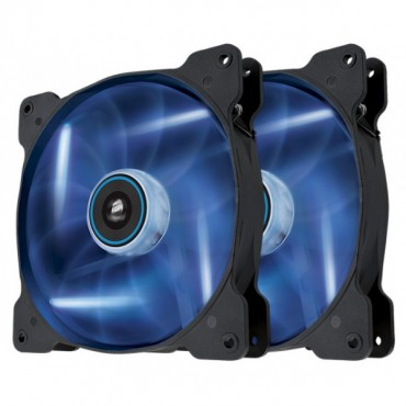 Corsair SP 140mm Fan with Blue LED High Pressure Twin Pack! CO-9050036-WW