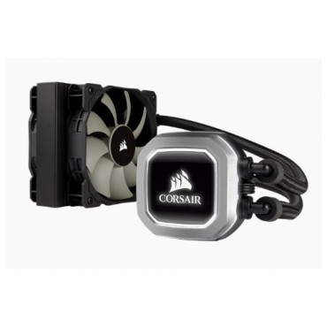 Corsair H75v2 120mm High Performance Liquid Cpu Cooler 2x Sp Pwm 12cm Fan. 5 Years Warranty Cw-9060035-ww