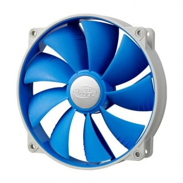 Deepcool Ultra Silent 140mm X 25mm Ball Bearing Fan With Anti-vibration Frame Sf-uf140