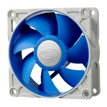 Deepcool Ultra Silent 80mm X 25mm Ball Bearing Case Fan With Anti-vibration Frame Pwm Sf-uf80
