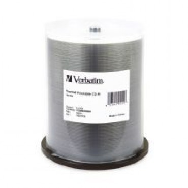 Verbatim Cd-R 700Mb 100Pk White Thermal 52X	Cmv95253 95253