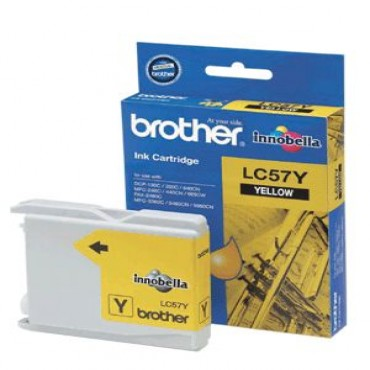 Brother LC-57 Yellow Ink Cart DCP-130c, MFC-240c/ 440CN LC-57Y