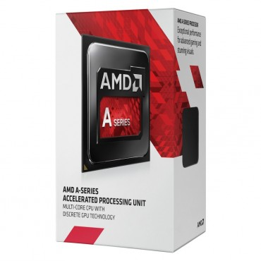 Amd A10-9700 Cpu Quad Core Am4 Max 3.8ghz 2mb Cache 65w Integrated Radeon R7 Series Apu With Fan