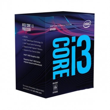 Intel Core i3-8100 3.6Ghz s1151 Coffee Lake 8th Generation Boxed 3 Years Warranty - SYSTEMS ONLY