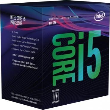 Intel Core I5-8400 + Optane 2.80ghz S1151 Coffee Lake 8th Generation Boxed + Optane 16gb 3 Years