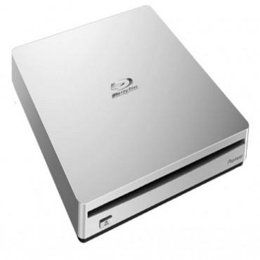 Pioneer BDR-XS06T 8x Slim External Portable USB 3.0 Blu-Ray Writer Burner White Slot Load Supports