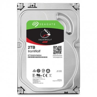 """Seagate Ironwolf 2tb Ironwolf Nas 3.5"""" 5900rpm Sata3 6gb/ S 64mb Hdd. 3 Years Warranty St2000vn004"""