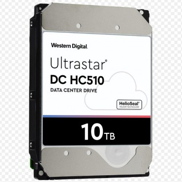 "Western Digital 10Tb Ultrastar Enterprise 3.5"" Sas 512E Se 256Mb 7200Rpm 12Gbs.- 5Yrs Warranty 0F27354"