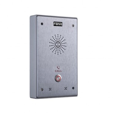 Fanvil I12 Outdoor Audio Intercom - Single Button Outdoor Rated Ip65 + Ik10 I12-01P