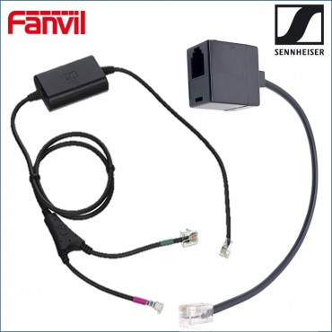 Fanvil/ Sennheiser Electronic Hook Switch (Ehs) Adapter - Inc Rj9 Connector Cable Ehsadaptor