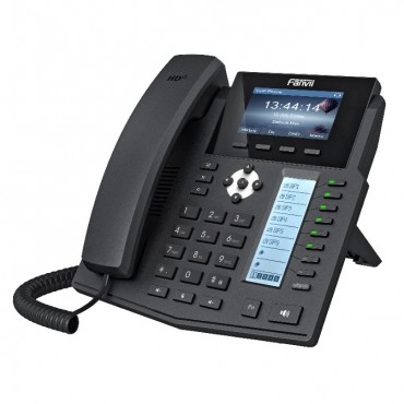 "Fanvil X5S Enterprise Ip Phone - 3.5"" Colour Screen 6 Lines 40 X Dss Buttons Dual Gigabit Nic Optional Bluetooth Via Bt20 X5S"