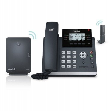 Yealink W41p Dect Desk Phone W41p Is A Package Of T41s W60b And Dect Dongle Dd10k Sip-w41p
