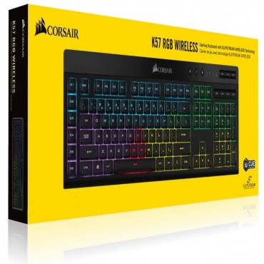 Corsair K57 Rgb Wireless Keyboard With Slipstream Technology Ch-925C015-Na