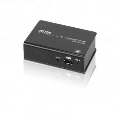 Aten 4 Port 4K Displayport Splitter Vs194-At-U