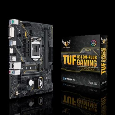 Asus Tuf H310m-plus S1151 Matx Gaming Mb 2xddr4 3xpcie 2xusb3.1 Gen1 4xusb2.0 1xhdmi 1xdvi Tuf H310m-plus