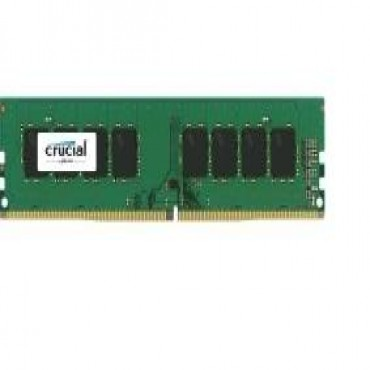 Crucial 8GB (1x8GB) DDR4 2400MHz UDIMM CL17 Single Ranked CT8G4DFS824A