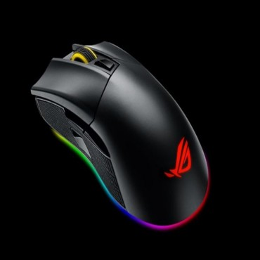 Asus Rog Gladius Ii P502 Gaming Mouse Fps Easy-swap Switch Socket Aura Sync Rgb Lighting And Dpi