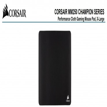 Corsair Mm250 Champion Series X-Large Anti-Fray Cloth Gaming Mouse Pad. CH-9412560-WW
