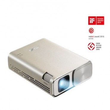 ASUS ZenBeam Go E1Z USB Pocket Projector 150 Lumens Built-in 6400mAh Battery Up to 5-hour Projection